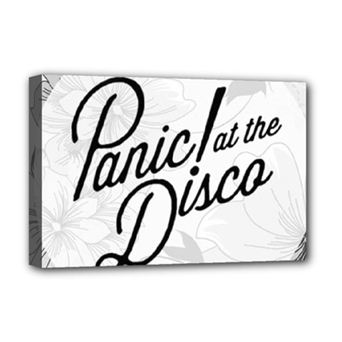 Panic At The Disco Flowers Deluxe Canvas 18  X 12