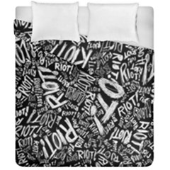 Panic At The Disco Lyric Quotes Retina Ready Duvet Cover Double Side (california King Size) by Samandel