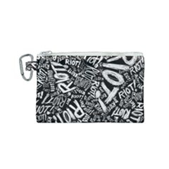 Panic At The Disco Lyric Quotes Retina Ready Canvas Cosmetic Bag (small) by Samandel