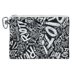 Panic At The Disco Lyric Quotes Retina Ready Canvas Cosmetic Bag (xl) by Samandel