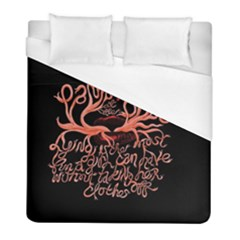 Panic At The Disco   Lying Is The Most Fun A Girl Have Without Taking Her Clothes Duvet Cover (full/ Double Size) by Samandel