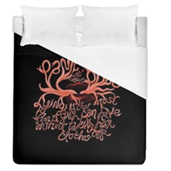 Panic At The Disco   Lying Is The Most Fun A Girl Have Without Taking Her Clothes Duvet Cover (queen Size) by Samandel
