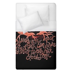 Panic At The Disco   Lying Is The Most Fun A Girl Have Without Taking Her Clothes Duvet Cover (single Size) by Samandel