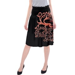 Panic At The Disco   Lying Is The Most Fun A Girl Have Without Taking Her Clothes Midi Beach Skirt by Samandel