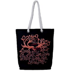 Panic At The Disco   Lying Is The Most Fun A Girl Have Without Taking Her Clothes Full Print Rope Handle Tote (small)
