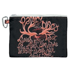 Panic At The Disco   Lying Is The Most Fun A Girl Have Without Taking Her Clothes Canvas Cosmetic Bag (xl) by Samandel