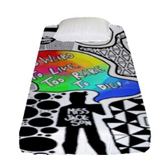 Panic ! At The Disco Fitted Sheet (single Size) by Samandel