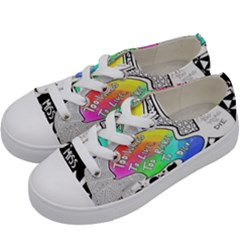 Panic ! At The Disco Kids  Low Top Canvas Sneakers by Samandel