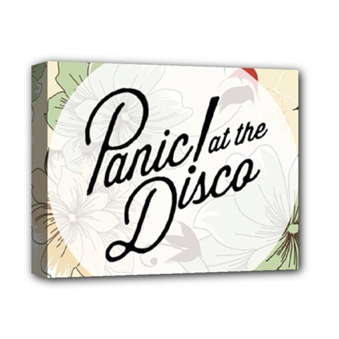 Panic At The Disco Beautifull Floral Deluxe Canvas 14  X 11