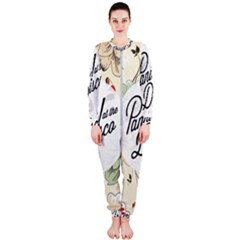 Panic At The Disco Beautifull Floral Onepiece Jumpsuit (ladies)  by Samandel