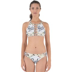 Panic At The Disco Beautifull Floral Perfectly Cut Out Bikini Set by Samandel