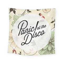 Panic At The Disco Beautifull Floral Square Tapestry (small)