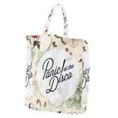 Panic At The Disco Beautifull Floral Giant Grocery Zipper Tote by Samandel