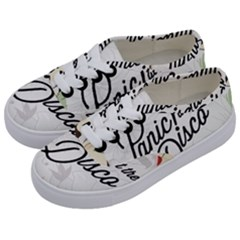 Panic At The Disco Beautifull Floral Kids  Classic Low Top Sneakers by Samandel