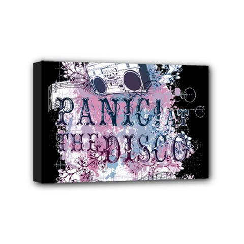 Panic At The Disco Art Mini Canvas 6  X 4  by Samandel