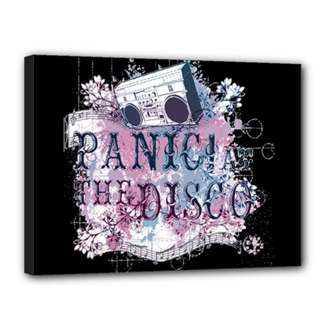 Panic At The Disco Art Canvas 16  X 12