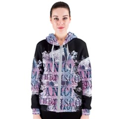 Panic At The Disco Art Women s Zipper Hoodie by Samandel