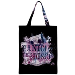 Panic At The Disco Art Zipper Classic Tote Bag by Samandel