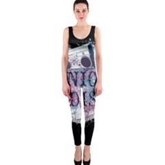 Panic At The Disco Art One Piece Catsuit by Samandel