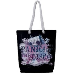 Panic At The Disco Art Full Print Rope Handle Tote (small) by Samandel