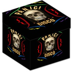 Panic At The Disco Poster Storage Stool 12   by Samandel