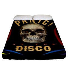 Panic At The Disco Poster Fitted Sheet (king Size)