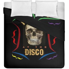 Panic At The Disco Poster Duvet Cover Double Side (king Size) by Samandel
