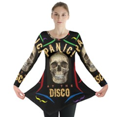 Panic At The Disco Poster Long Sleeve Tunic  by Samandel