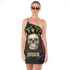 Panic At The Disco Poster One Soulder Bodycon Dress