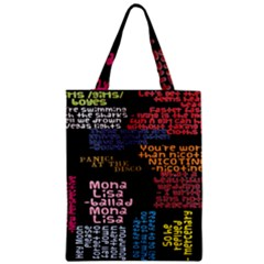 Panic At The Disco Northern Downpour Lyrics Metrolyrics Zipper Classic Tote Bag by Samandel