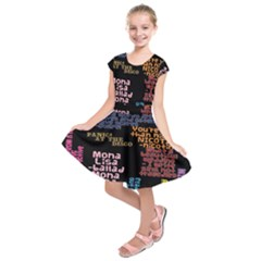 Panic At The Disco Northern Downpour Lyrics Metrolyrics Kids  Short Sleeve Dress by Samandel