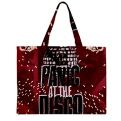 Panic At The Disco Poster Zipper Mini Tote Bag by Samandel