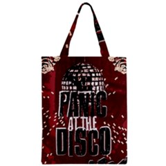 Panic At The Disco Poster Zipper Classic Tote Bag by Samandel
