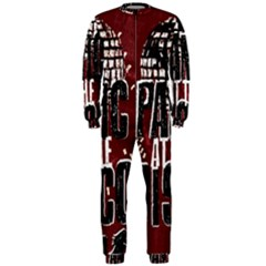 Panic At The Disco Poster Onepiece Jumpsuit (men)  by Samandel