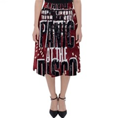Panic At The Disco Poster Folding Skater Skirt