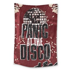 Panic At The Disco Poster Large Tapestry by Samandel