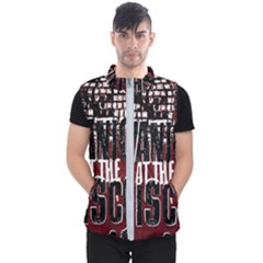 Panic At The Disco Poster Men s Puffer Vest by Samandel