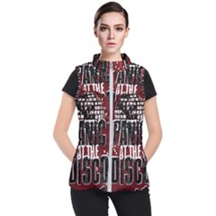 Panic At The Disco Poster Women s Puffer Vest by Samandel