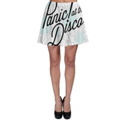 Panic At The Disco Quote Skater Skirt by Samandel