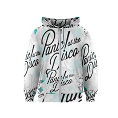 Panic At The Disco Quote Kids  Zipper Hoodie by Samandel
