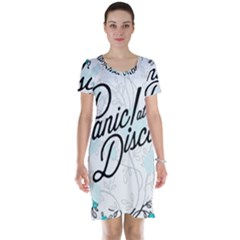 Panic At The Disco Quote Short Sleeve Nightdress by Samandel