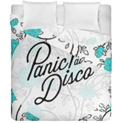 Panic At The Disco Quote Duvet Cover Double Side (california King Size)