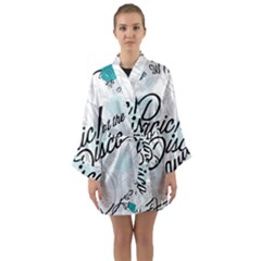 Panic At The Disco Quote Long Sleeve Kimono Robe by Samandel