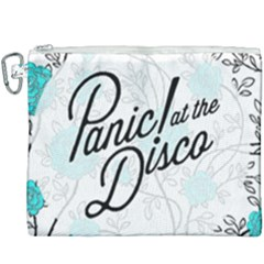 Panic At The Disco Quote Canvas Cosmetic Bag (xxxl) by Samandel