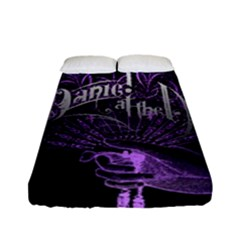Panic At The Disco Fitted Sheet (full/ Double Size) by Samandel