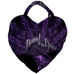Panic At The Disco Giant Heart Shaped Tote by Samandel