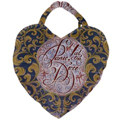 Panic! At The Disco Giant Heart Shaped Tote by Samandel