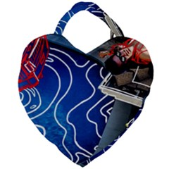 Panic! At The Disco Released Death Of A Bachelor Giant Heart Shaped Tote