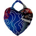 Panic! At The Disco Released Death Of A Bachelor Giant Heart Shaped Tote View2
