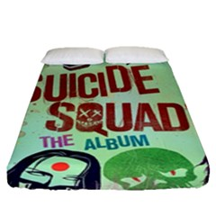 Panic! At The Disco Suicide Squad The Album Fitted Sheet (queen Size) by Samandel